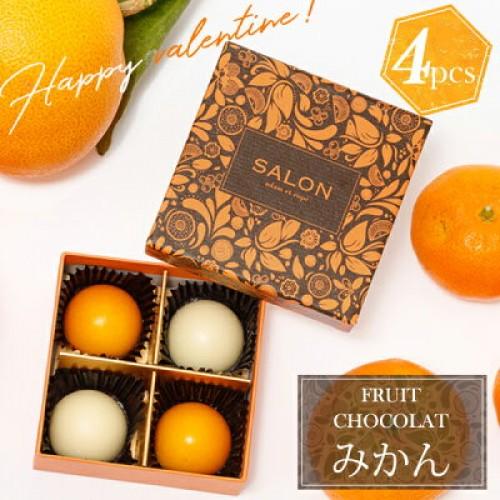 SALON adam et rope' フルーツショコラ(オレンジ4個入)