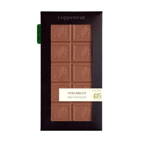 タブレットチョコレート ミルクチョコレート(Milk Chocolate)カカオ43%