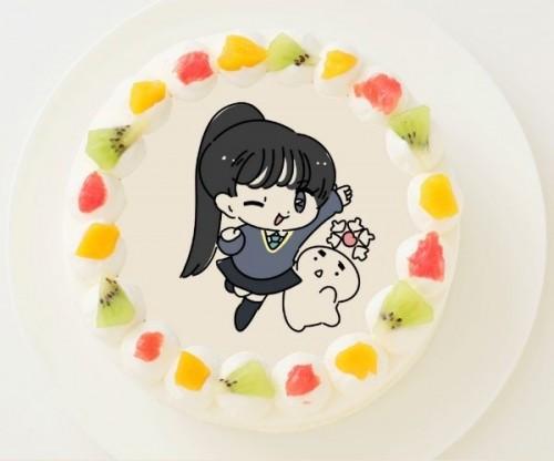 【1D&ゆーぽん】丸型写真ケーキ 3号 9cm
