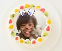 【かっちゃん】丸型写真ケーキ 3号 9cm