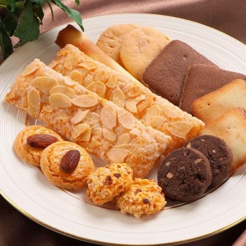 ~ロイスダールの定番焼き菓子詰め合わせ~ロイスダールセット(アマンドリーフ7枚、クッキー7種類全27枚)