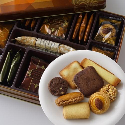 ~ロイスダールの定番焼き菓子詰め合わせ~ロンジェ(クッキー8種類全43枚)