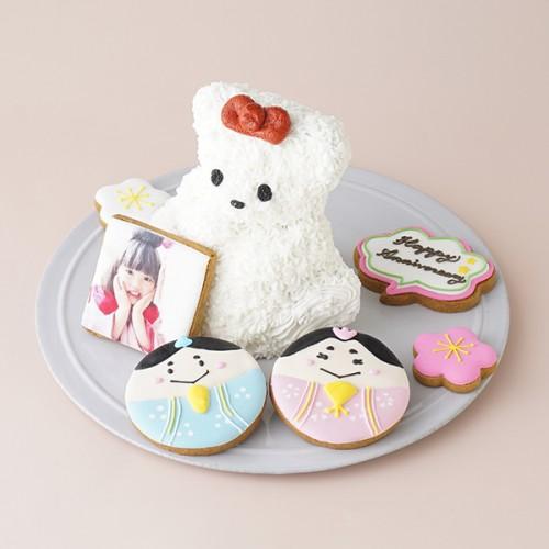 くまのケーキ ひなまつり2021