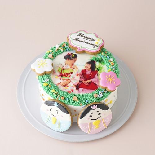 リースケーキ ひなまつり2021