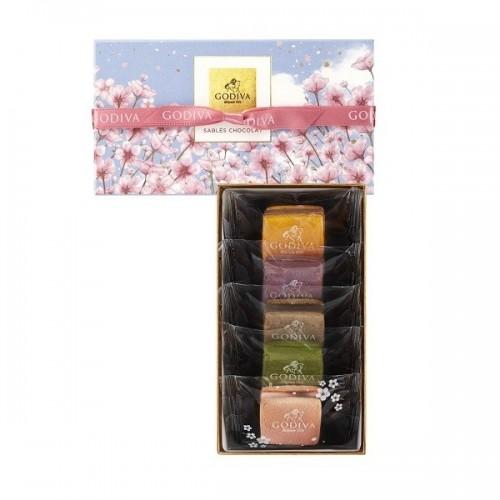 GODIVA サブレショコラ 桜 (5個入)