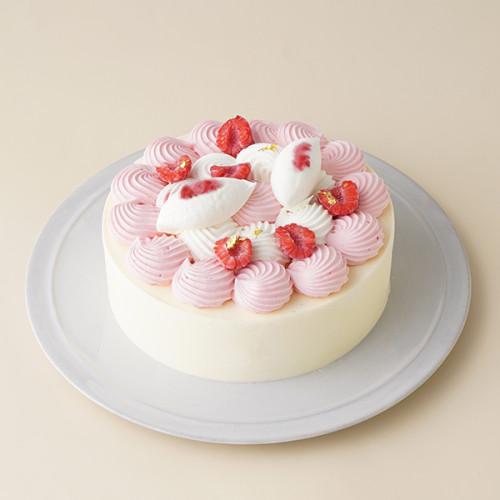 フランボワーズのレアチーズケーキ 5号 15cm
