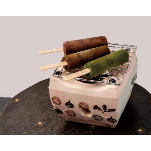 京都・本くず氷 アイスキャンディー 焼きアイスセット 30ml×5本