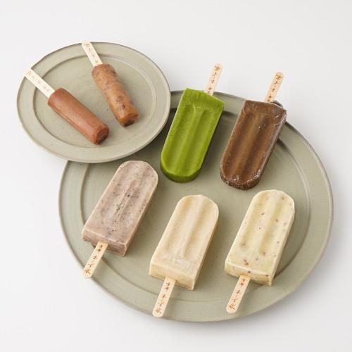 京都・本くず氷 アイスキャンディー 和づくしセット 75ml×3本、30ml×4本