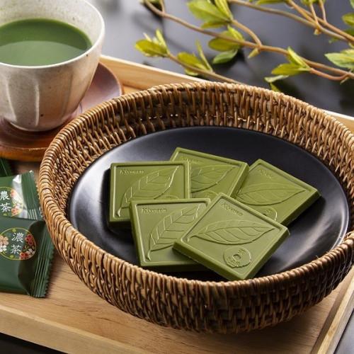 【京都・茶匠きよ泉が手掛ける抹茶スイーツ】宇治抹茶チョコレート 9枚入り