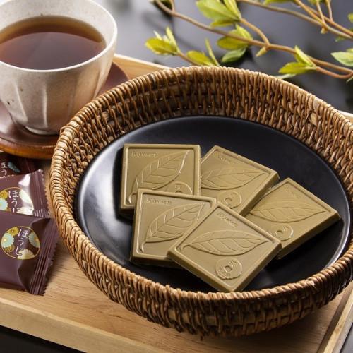 【京都・茶匠きよ泉が手掛ける抹茶スイーツ】ほうじ茶チョコレート 9枚入り