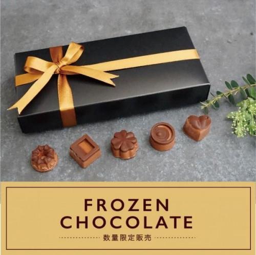 新感覚!冷たいチョコレート / ハンデルスベーゲン 【FROZEN CHOCOLATE】数量限定販売!