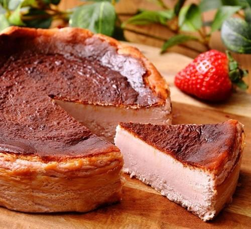 モンテローザ バスクチーズケーキ苺味5号
