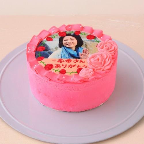 お写真入り母の日ケーキ☆ 4号 母の日2021