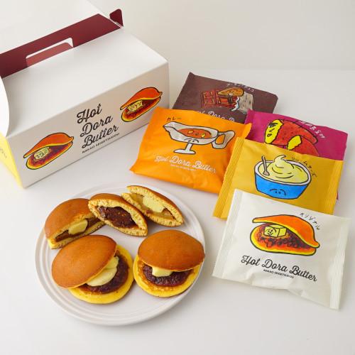 Hot Dora Butter 10個詰め合わせセット(5種各2個入)