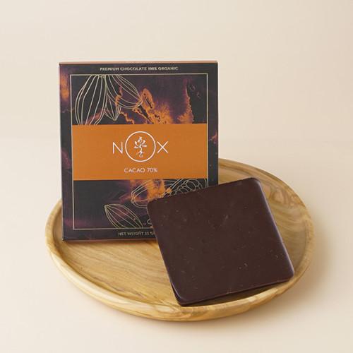 【ヴィーガンスイーツ】NOXオーロラバーチョコレート ダーク