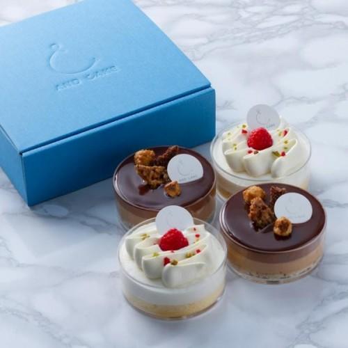 AND CAKE ショートケーキ&ショコラ ノワゼット 4P