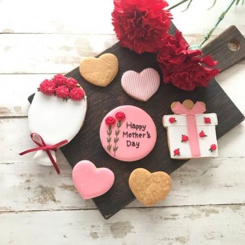 母の日アイシングクッキーセット ③ 7枚 母の日2021