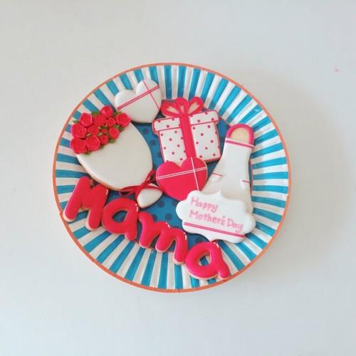 母の日アイシングクッキーセット 10枚 母の日2021