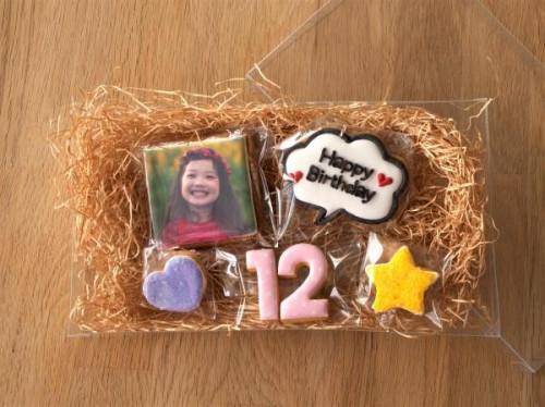 ☆大人気☆フォトクッキーセット・合計6枚!!ケーキに飾っても♪