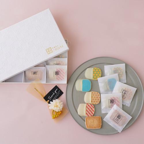 京纏SHIROMUKU~和柄クッキー&白ごまクッキー~(24枚入)「母の日2021」
