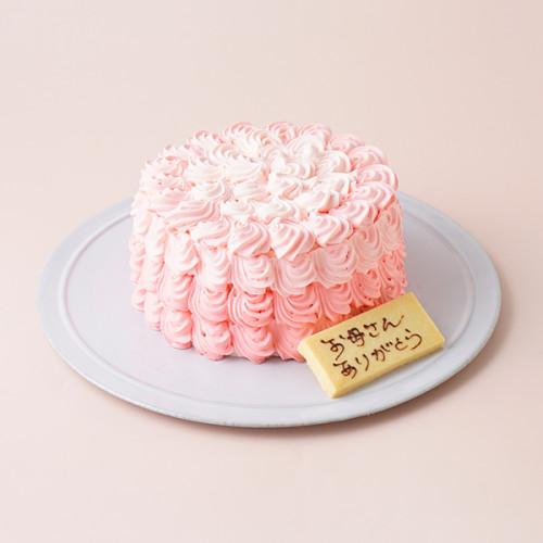 母の日ローズケーキ バタークリームデコレーション 4号 12㎝ 母の日2021