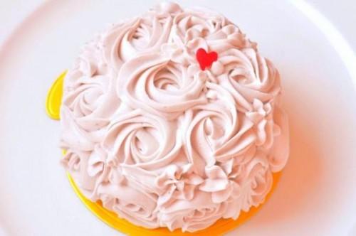 ストロベリーロゼッタケーキ【グルテンフリー・ヴィーガン】【小麦・卵・乳・大豆・白砂糖・ナッツ・オートミール不使用】4号 12cm 母の日2021