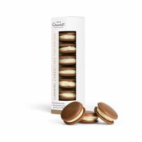 【チョコレートの名店ホテルショコラ】ソルトキャラメルチーズケーキ マカロン