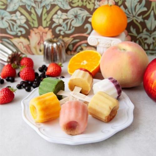 カヌレのかたちのまるでケーキなアイス TOO POP ICE~フルーツシャピトー~