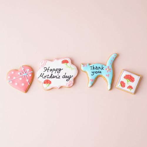 おかあさんありがとう  mother'sアイシングクッキー 母の日2021