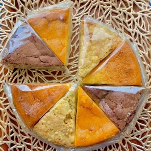 4種のケーキセット 6号サイズ