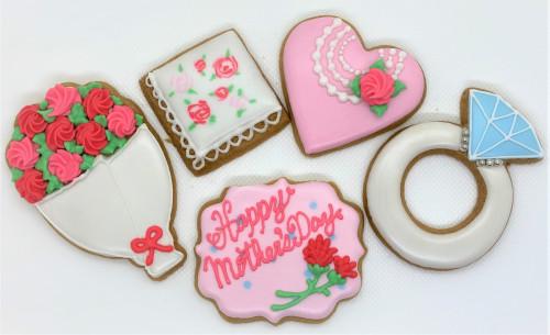 母の日2021 クッキー 5枚1セット