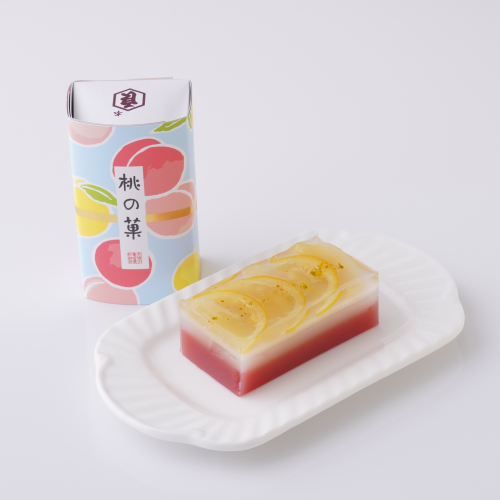 【亀屋良長】桃の菓