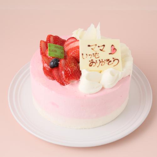 母の日デコレーションケーキ 4号 12cm 母の日2021