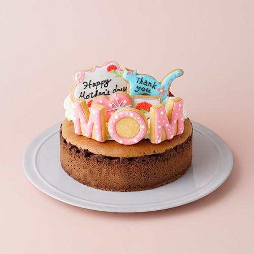 母の日2021 <br> mother's thanksとろけるショコラ <br> 5号 15cm