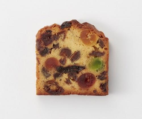 【フランス菓子の名店・ルコント】フルーツケーキ カット