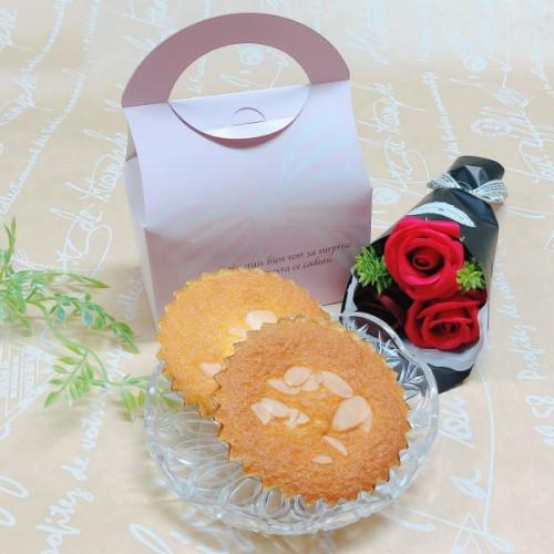 シャボンフラワーと焼き菓子セットA