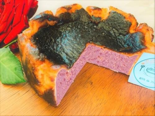 ローズバスクチーズケーキ