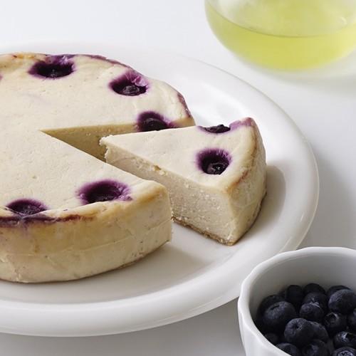 ヴィーガンベイクドチーズ ケーキ ブルーベリー 5号【ヴィーガンスイーツ】