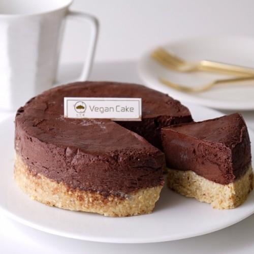 ヴィーガン チョコレートムースケーキ グルテンフリー 4号