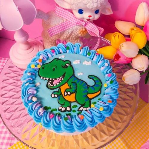 ダイナソー!希望カスタムケーキ 5号 恐竜ケーキ