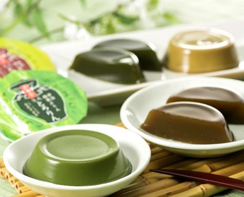 【京都・茶匠きよ泉が手掛ける抹茶・ほうじ茶スイーツ】 濃厚でさわやかな風味の葛餅と口どけなめらかな2種のプリンセット 父の日2021
