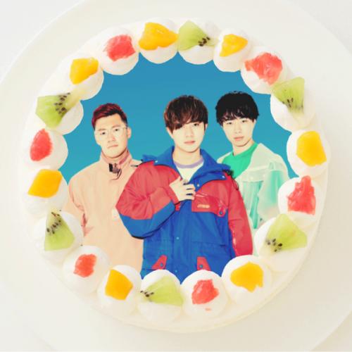 【アバンティーズ】丸型写真ケーキ 3号 9cm