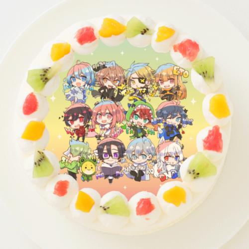 【JPAPA CHANNEL】丸型写真ケーキ 3号 9cm
