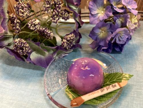 水まんじゅう 紫陽花 4個