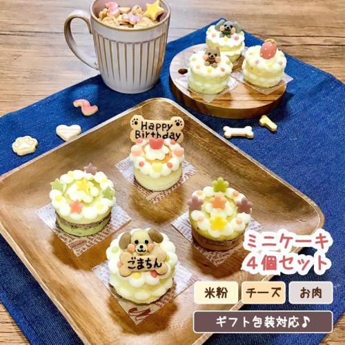 よくばりミニケーキ3個セット【名入れ対応♪】
