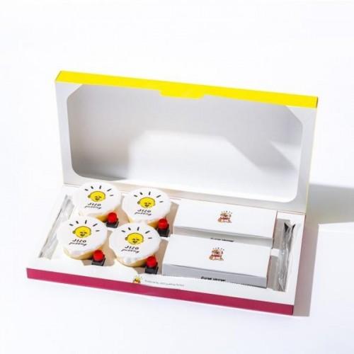 地蔵プリン4個×BOWWOWチーズケーキ2個