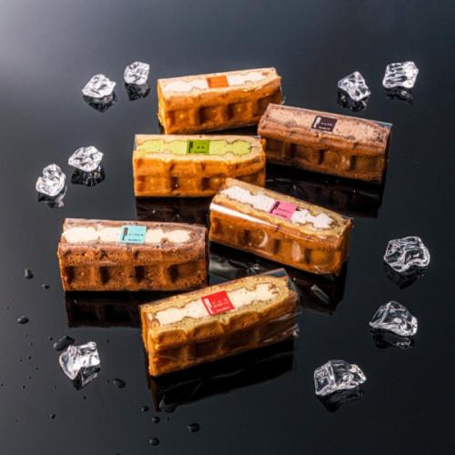 【送料無料】アイスワッフル6個入り【ワッフル・ケーキの店R.L(エール・エル)】