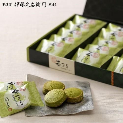 【伊藤久右衛門】宇治抹茶クッキー 茶まる 15枚入 アウトレット