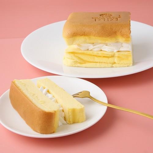 台湾カステラケーキ プレーン&クリーム