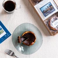 【XIRINGUITO Escribà】バスク風チーズケーキ2個とコーヒー3パック ギフトセット